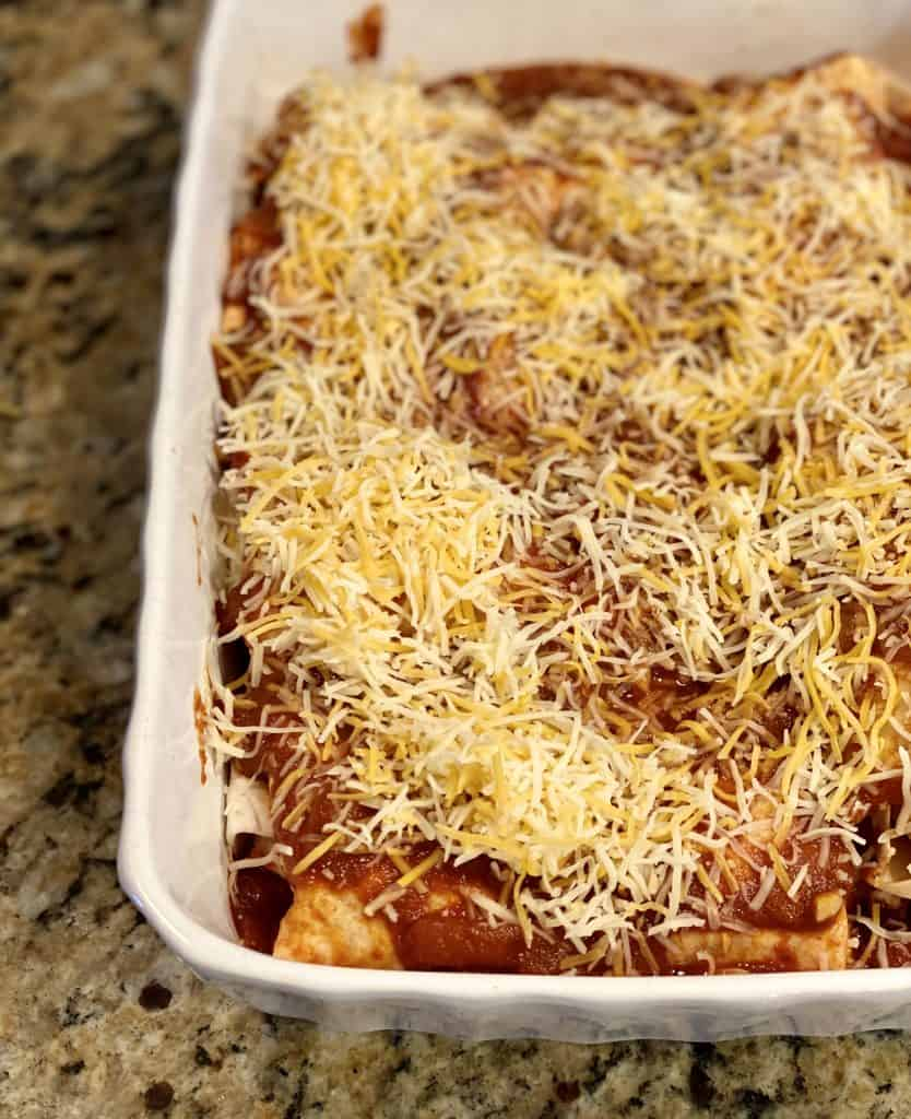 enchiladas made ahead of time