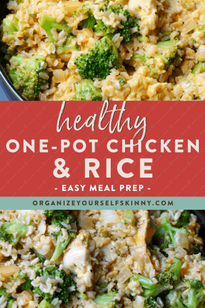 Healthy One-Pot Chicken And Rice