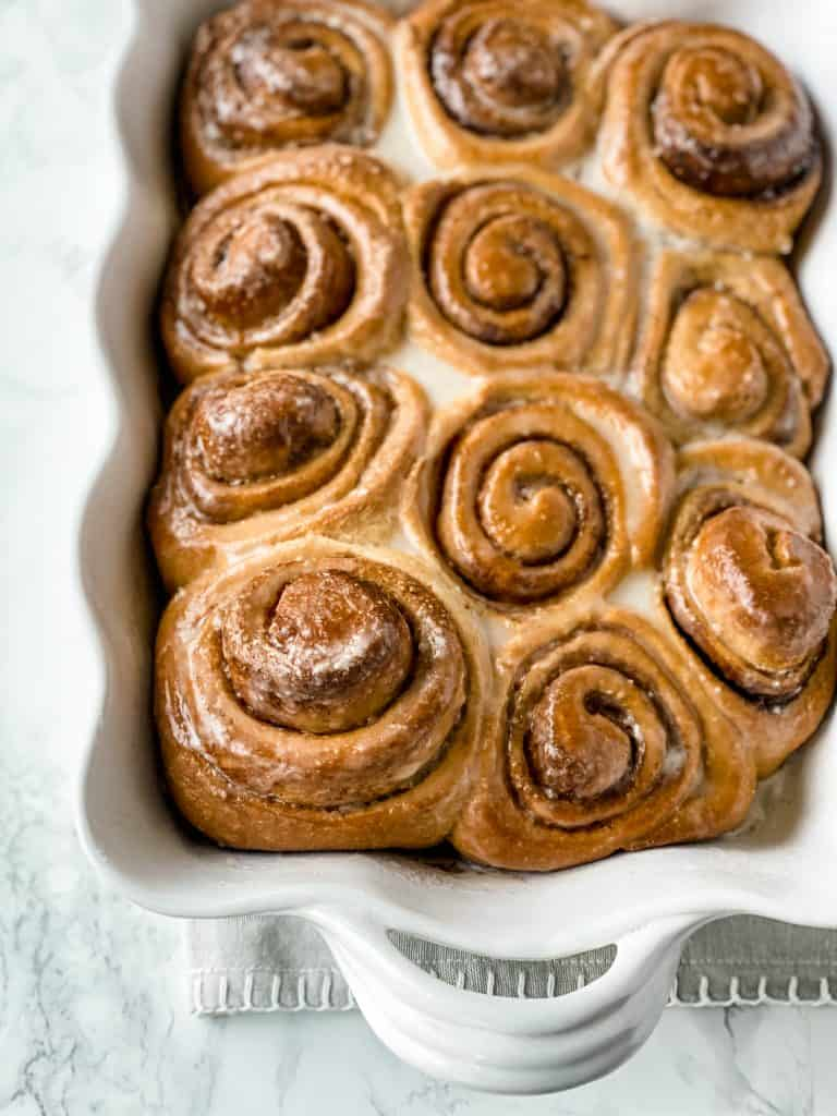 easy to make bread machine healthy cinnamon rolls