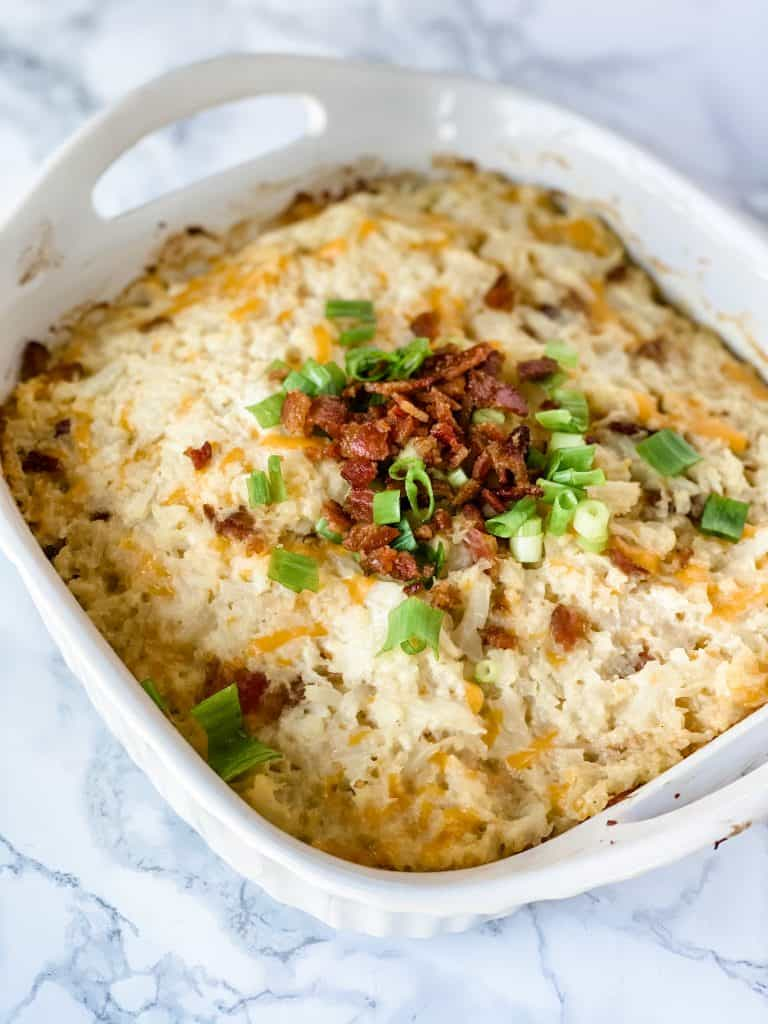 loaded cauliflower mash