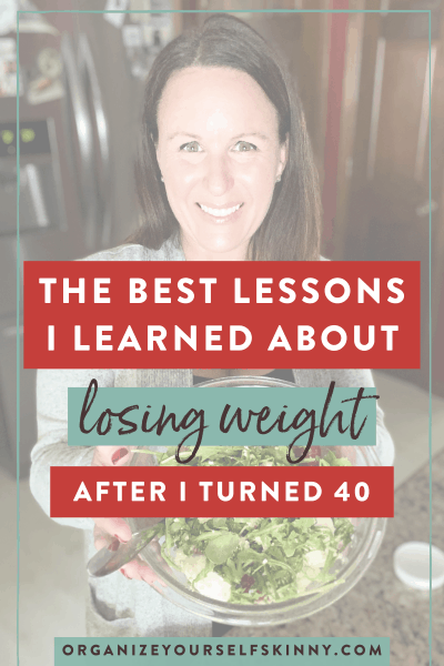 Losing Weight After 40: The Best Lessons I Learned