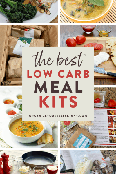 Low carb meal delivery kits
