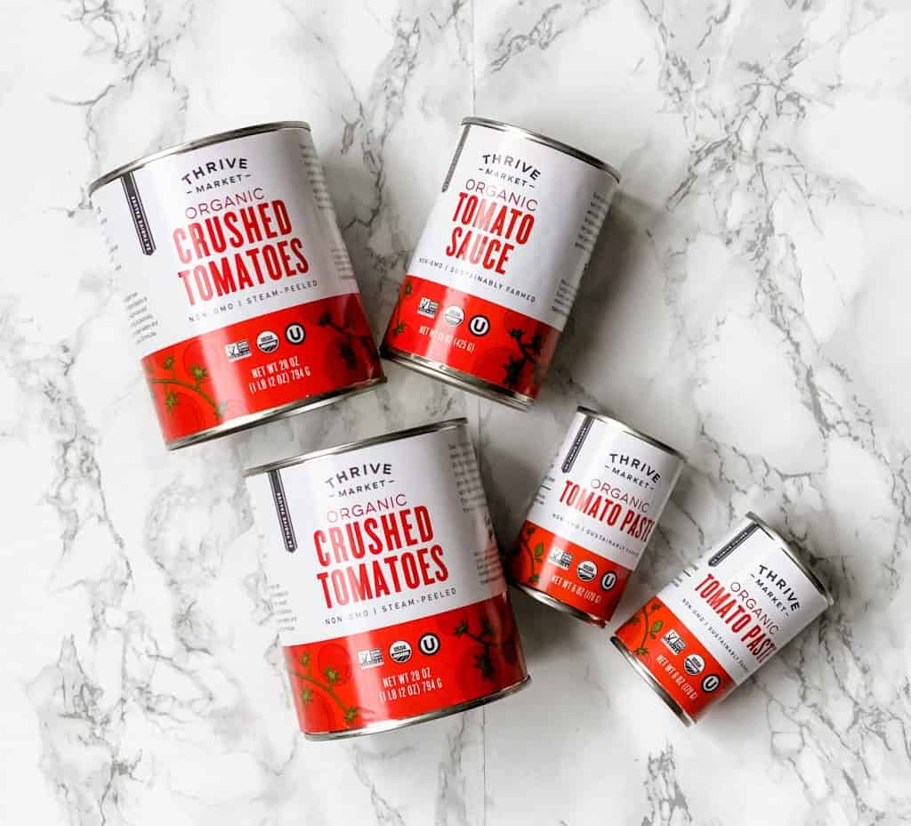 thrive market tomato products