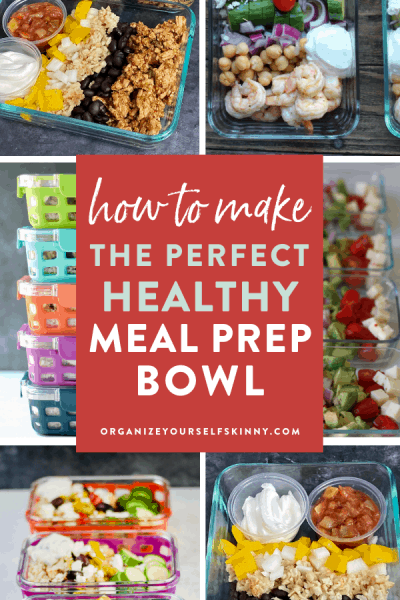 How to Prepare Meal Prep Bowls