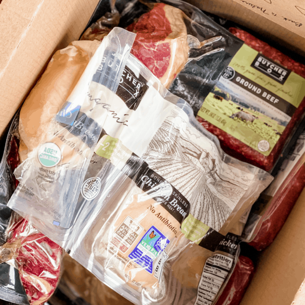 Large custom box of Butcher Box Meat. My Honest review