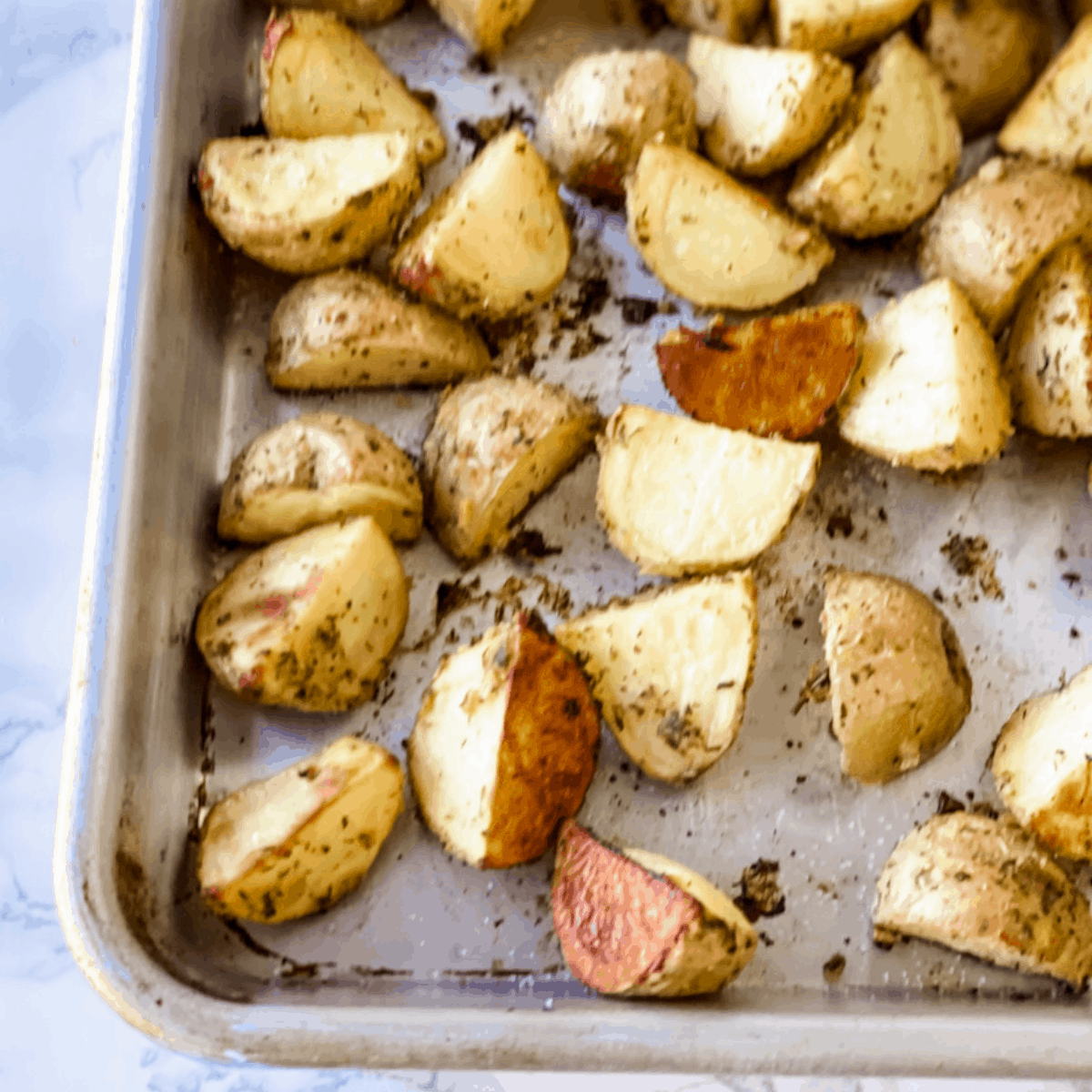 ranch roasted potatoes perfect meatloaf side dish