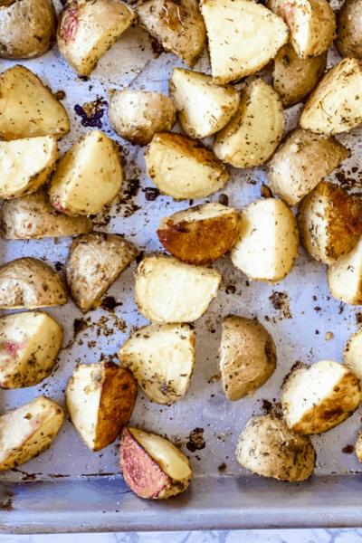 ranch roasted potatoes