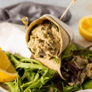 Avocado Tuna Salad with Greek yogurt and no mayo