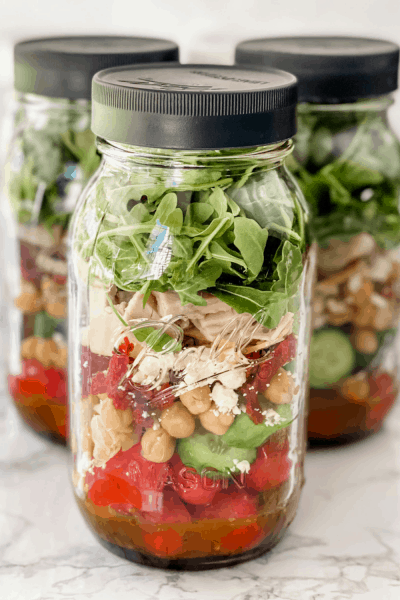 California Salad in a Jar