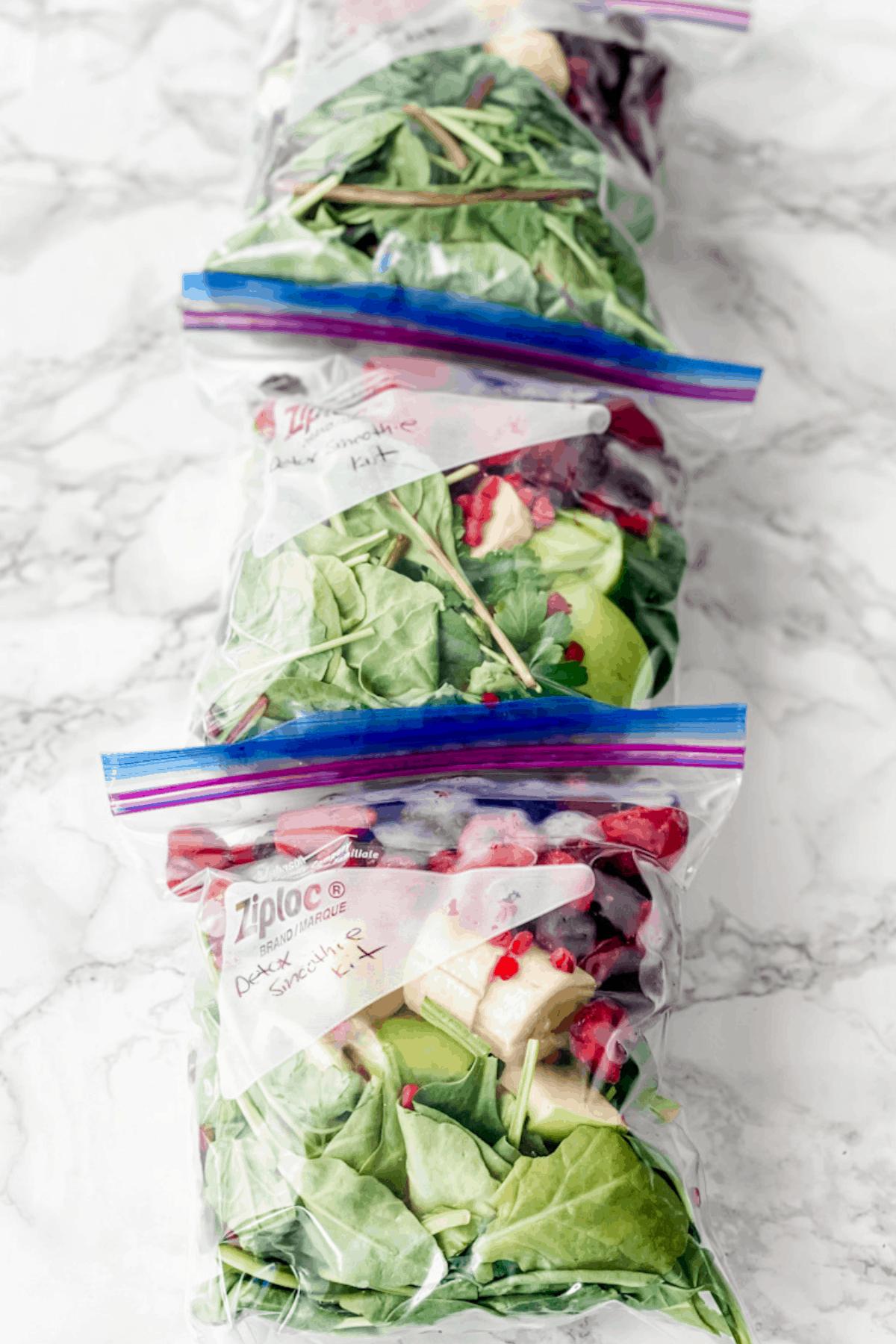 freezer smoothie kit