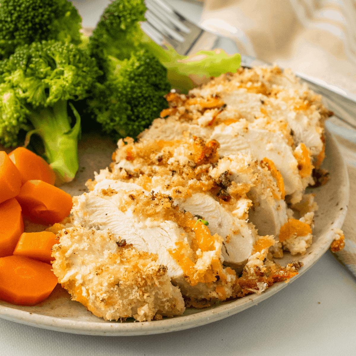 healthy baked ranch chicken recipe.