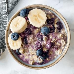 blueberry overnight oats recipe