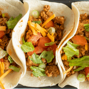 crockpot turkey tacos