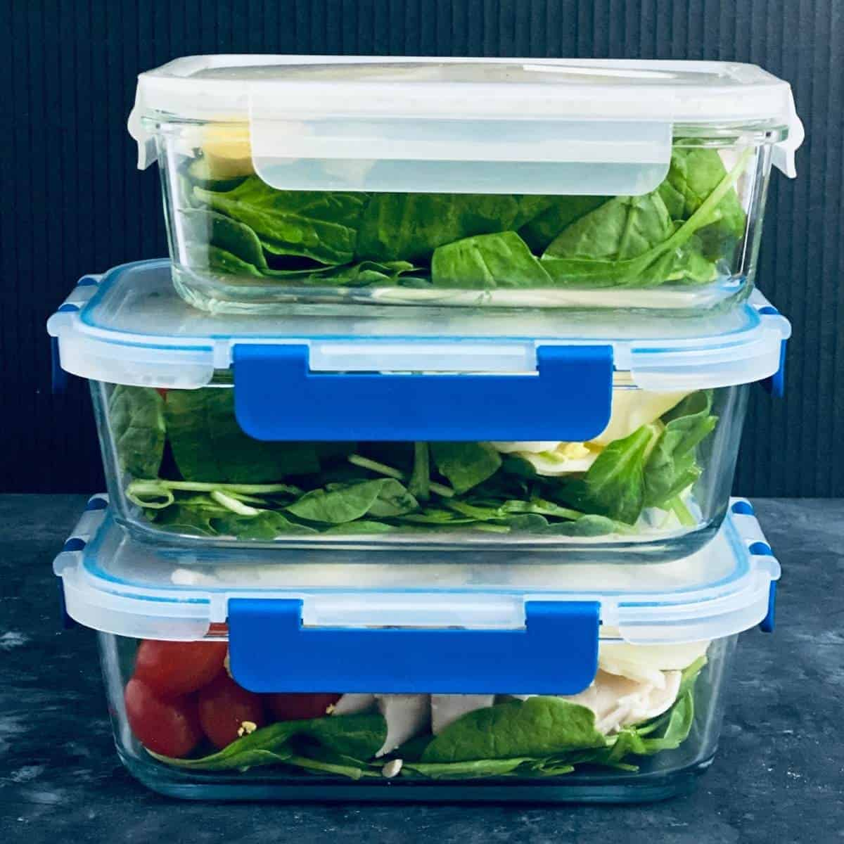 meal prep for weight loss salads