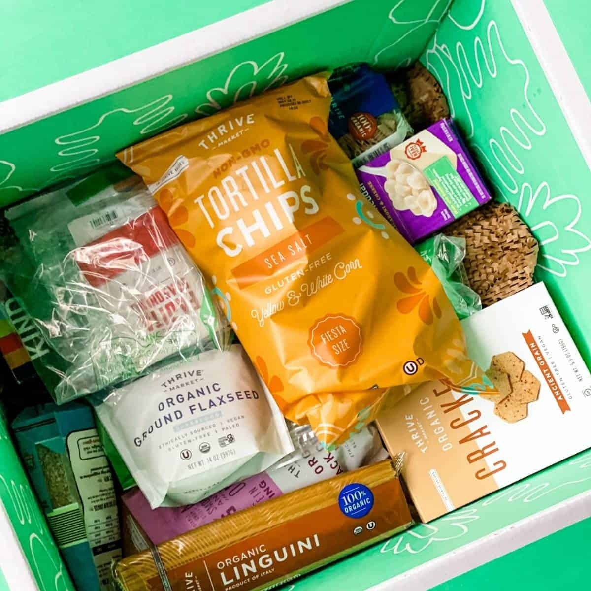 thrive market online grocery store to stock up on healthy pantry items.